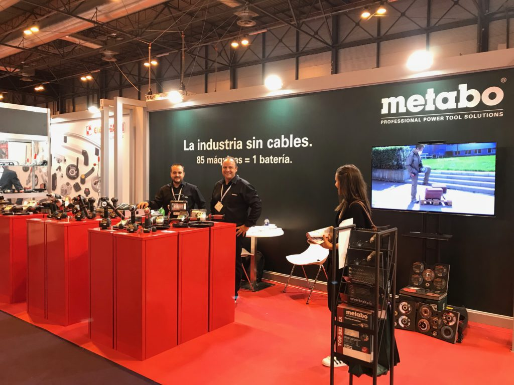 Metabo en MetalMadrid 2018 -Rationalstock