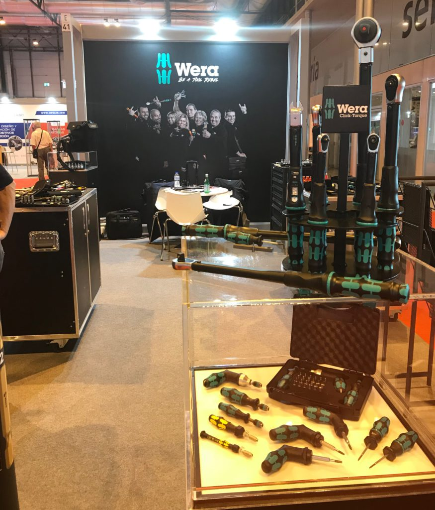 Wera en MetalMadrid 2018 - Rationalstock